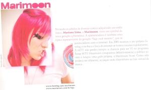 MariMoon na revista Lounge