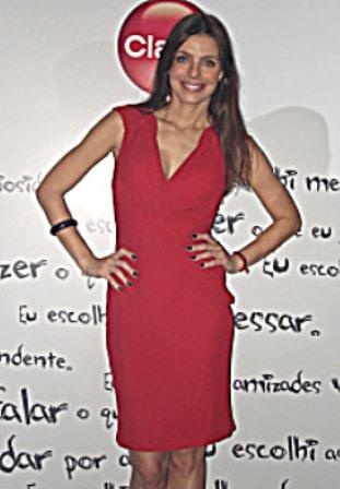 Daniella Cicarelli no evento da Claro