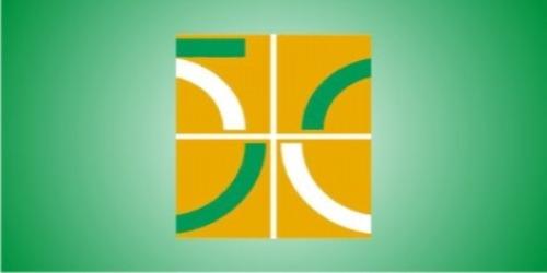 Logo criado para a comemoração do cinquentenário de Brasília